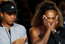 Naomi Osaka and Serena Williams | Julian Finney/Getty Images