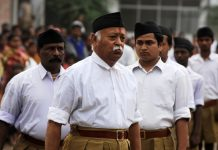 RSS chief Mohan Bhagwat | DIPTENDU DUTTA/AFP/Getty Images