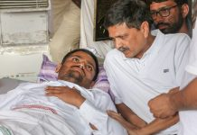Hardik Patel hospitalised
