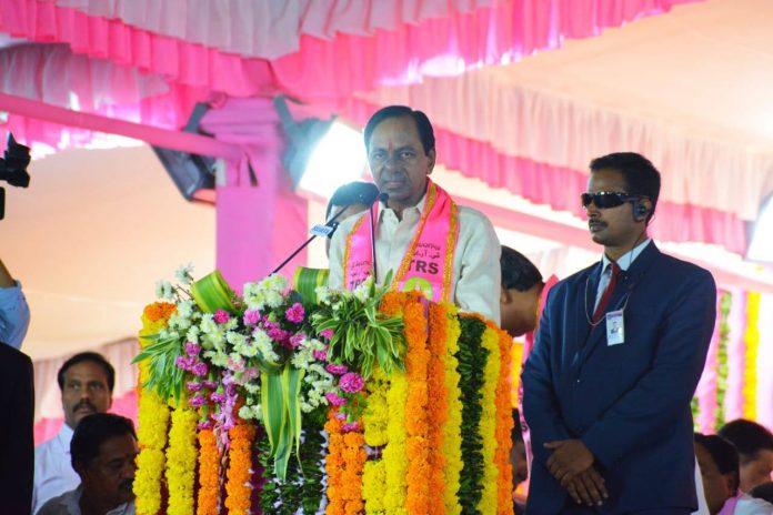 K. Chandrashekar Rao at an event in Hyderabad | Facebook