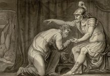 Illustration depicting Achillus and his cousin Patroclus | Commons