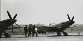 IAF Spitfires at Ambala before the flew into Srinagar | Polly Singh