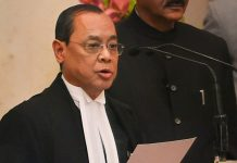 Ranjan Gogoi takes his oath after being appointed as the 46th Chief Justice of India | PTI