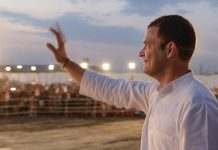 Congress president Rahul Gandhi during a rally in Rajasthan | PTI