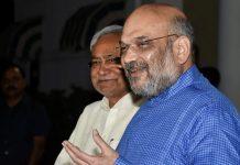 BJP President Amit Shah and Bihar chief minister Nitish Kumar   PTI