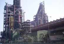 An Essar Steel factory in Surat, Gujarat