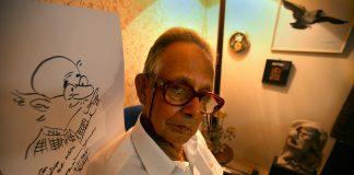 File image of R.K. Laxman | Mustafa Quraishi/Getty Images