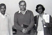 Kanshiram (centre) along with the other founding members of BAMCEF in the 1970s | Facebook