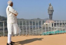 Narendra Modi infront of Sardar Patel's Statue of Unity | @PMOIndia/Twitter