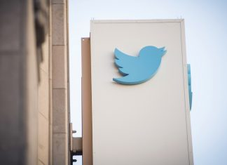 The Twitter Inc. logo displayed outside the company's headquarters in San Francisco   David Paul Morris/Bloomberg