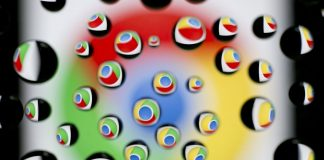 The Google Inc. Chrome icon is reflected in water droplets | Andrew Harrer/BloombergThe Google Inc. Chrome icon is reflected in water droplets | Andrew Harrer/Bloomberg