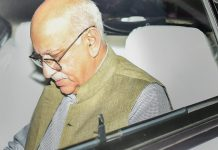 Minister of State for External Affairs MJ Akbar leaves MEA | Kamal Singh/PTI