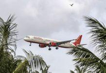 An Air India Ltd. aircraft prepares to land | Dhiraj Singh/Bloomberg