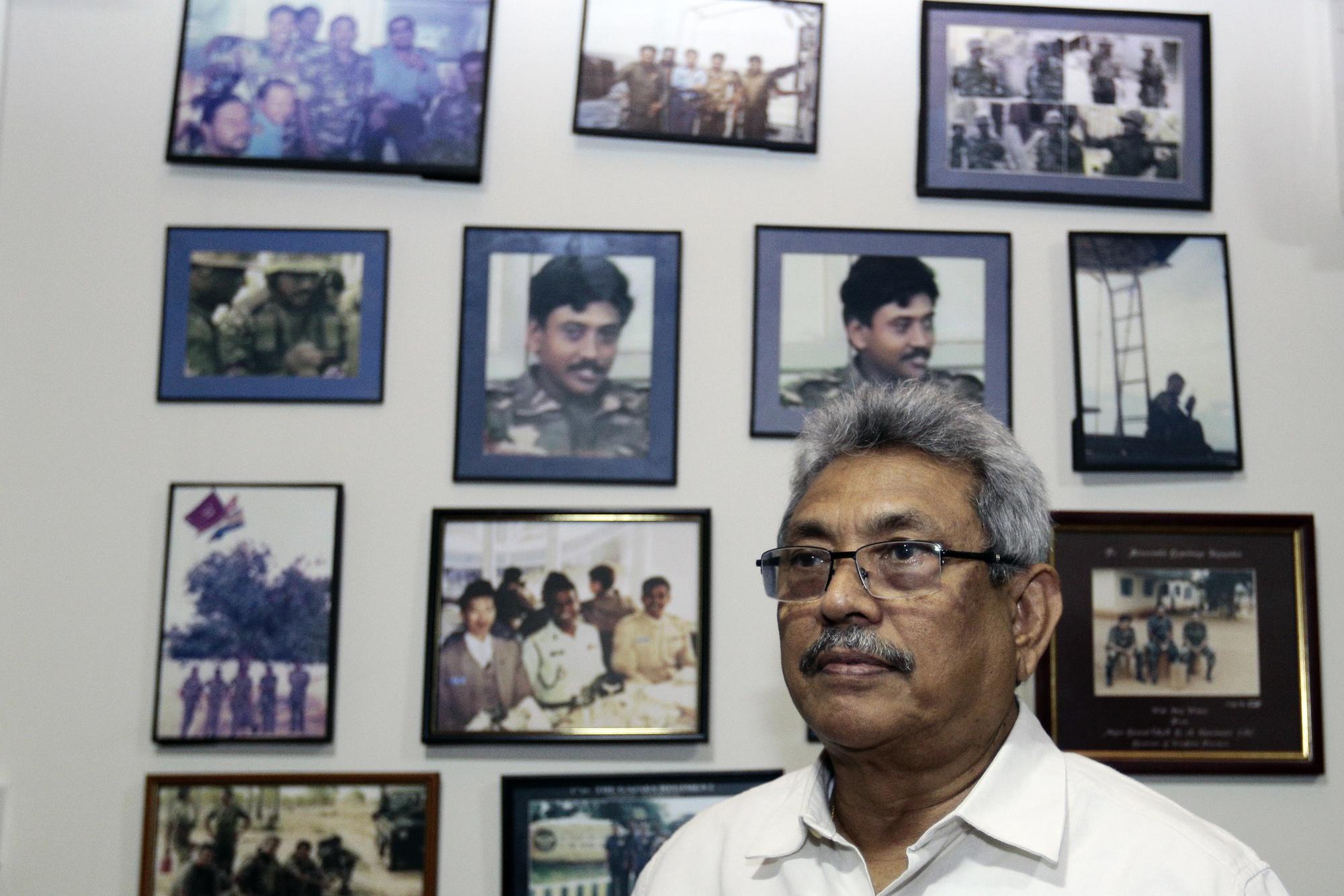 Gotabaya Rajapaksa | Tharaka Basnayaka/Bloomberg