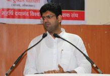 File photo of Dushyant Chautala | Facebook
