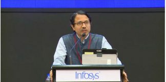 Navakanta Bhat, won in the category of Engineering and Computer Science at the Infosys Science Foundation | @InfosysPrize /Twitter