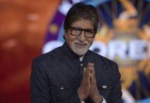File image of Amitabh Bachchan on the sets of Kaun Banega Crorepati   @SrBachchan/Twitter