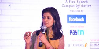 Nandita Das at Democracy Wall | ThePrint.in