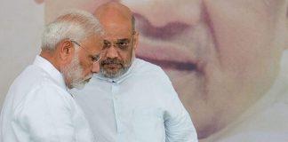 Prime Minister Narendra Modi with BJP president Amit Shah | Atul Yadav/PTI