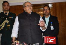J&K Governor Satya Pal Malik addresses the media in Jammu | PTI