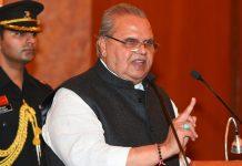 Jammu and Kashmir governor Satya Pal Malik | Shahbaz Khan/PTI