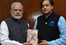 Narendra Modi and Shashi Tharoor | ShashiTharoor/Facebook