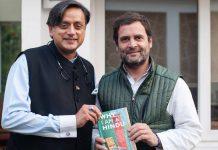 Shashi Tharoor and Rahul Gandhi | ShashiTharoor/Facebook