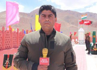 India Today executive editor Gaurav Sawant