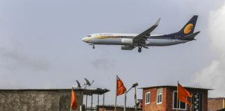 A Jet Airways India Ltd. aircraft in Mumbai | Dhiraj Singh/Bloomberg