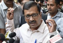 Delhi CM Arvind Kejriwal talks to media persons | Ravi Chowdhary/PTI