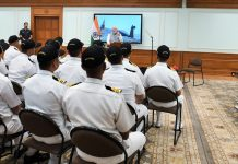 PM Modi addressing the INS Arihant crew | @narendramodi/Twitter