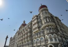 Taj Mahal Palace hotel which was a target during the 26/11 terror attack in 2008 in Mumbai | Mitesh Bhuvad/PTI
