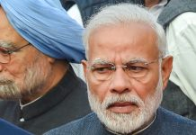 File photo of PM Narendra Modi and former PM Manmohan Singh   PTI