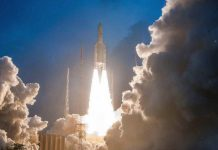 Ariane5 VA-246 lifted off from Kourou Launch Base carrying GSAT11 | @isro/Twitter