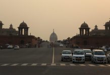 North Block and South Block on Raisina Hill | Manisha Mandal/ThePrint