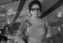 Sharmila Tagore in a still from Satyajit Ray directed Nayak | @Criterion/Twitter