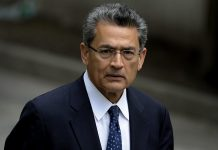 File photo of Rajat Gupta, former Goldman Sachs Inc. director and former senior partner at McKinsey & Co. | Peter Foley/Bloomberg