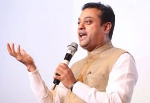File photo of Sambit Patra | sambitswaraj/Facebook