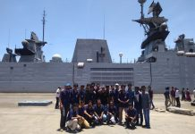 A team from IIT Madras visits Indian Navy ships | P.R. Shankar/ThePrint