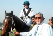 Vijay Mallya in his stud farm | YouTube
