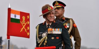 Army chief Bipin Rawat at Army Day parade | Praveen Joshi/ThePrint