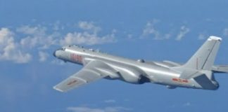 The H-6K bomber aircraft