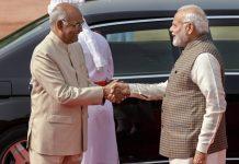 President Ramnath Kovind with Prime Minister Narendra Modi | PTI