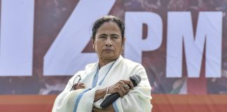 File photo of West Bengal CM Mamata Banerjee during TMC mega rally in Kolkata | PTI