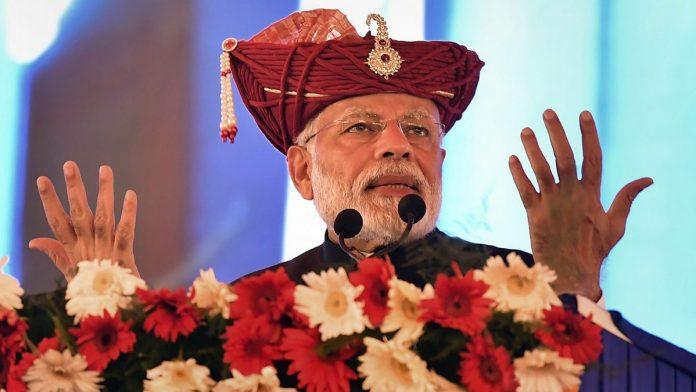 Prime Minister Narendra Modi in Silvasa, Dadra & Nagar Haveli | PTI