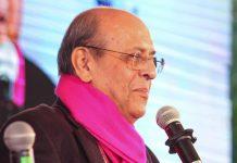 Former CEC Navin Chawla at Jaipur Lit fest | @ZEEJLF/Twitter