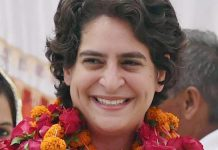File photo of Priyanka Gandhi Vadra during an election campaign in Amethi in 2014 | Atul Yadav/PTI