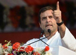 File photo of Congress president Rahul Gandhi| PTI