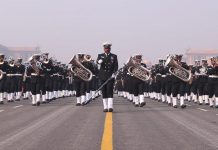 Navy band during the rehearsal | Suraj Bhist/ThePrint