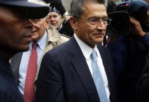 Rajat Gupta, former Goldman Sachs Group Inc. director exits federal court after being sentenced for insider trading in New York
